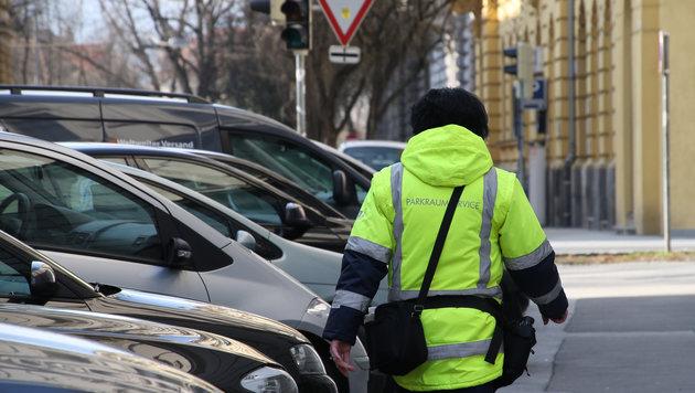 """Zig-Tausende Euro an offenen Parkstrafen kommen in Graz öfter vor, als man glauben möchte... (Bild: """"Krone"""")"""
