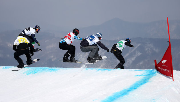 Hämmerle beim Weltcup in Veysonnaz Dritter (Bild: GEPA)