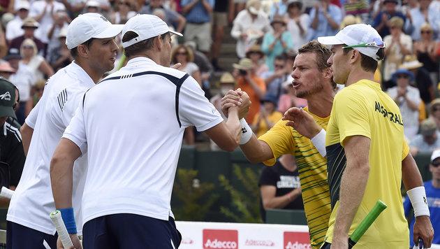 Hewitt verliert bei Comeback Krimi gegen USA (Bild: AP)