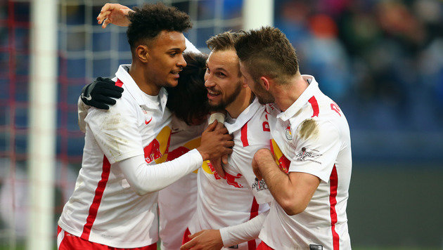 RB Salzburg will in Altach Druck auf Rapid erhöhen (Bild: GEPA)