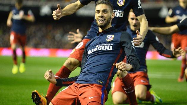 Atletico Madrid hält die Titelchancen am Leben (Bild: AFP or licensors)