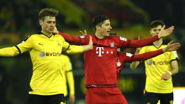 """Bayern haben """"Angriff von Dortmund abgeblockt"""" (Bild: AFP)"""