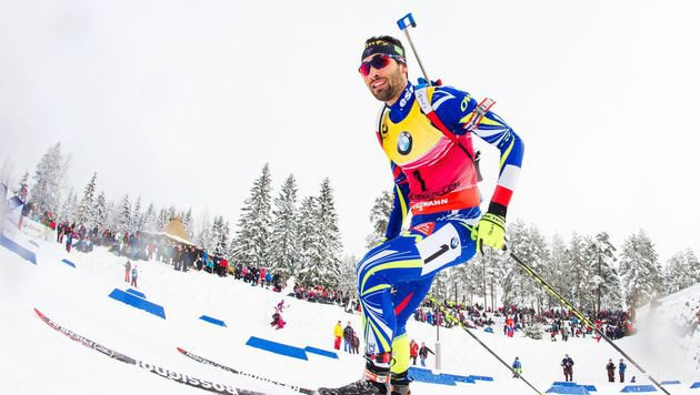 Biathlon: Fourcade holt neuntes WM-Gold (Bild: AFP)
