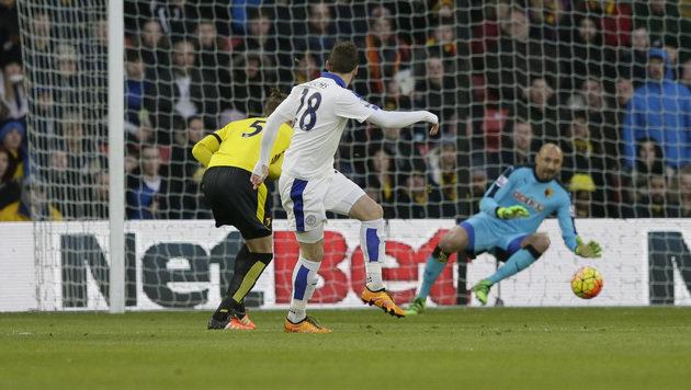 """Fuchs"""" Leicester: """"Neun Stufen bis zum Himmel"""" (Bild: AP)"""