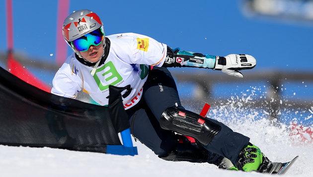Ina Meschik raste bei Snowboard-Finale auf Rang 2 (Bild: GEPA pictures)