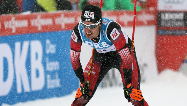 Lukas Klapfer holt Platz drei in nordischer Kombi (Bild: GEPA pictures)
