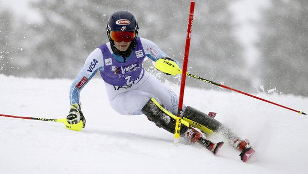 Mikaela Shiffrin demütigt die Konkurrenz (Bild: AP)