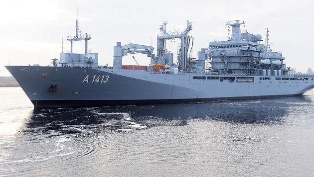 NATO-Mission in der Ägäis läuft nun voll an (Bild: AP)