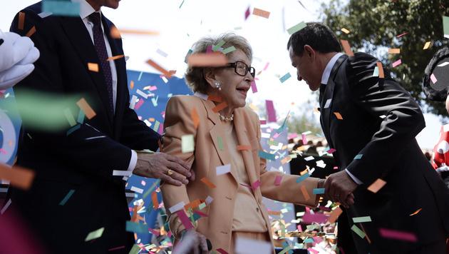 Nancy Reagan im Alter von 94 Jahren gestorben (Bild: AP)