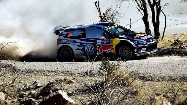 Rallye-Star Latvala triumphiert in Mexiko! (Bild: RONALDO SCHEMIDT)