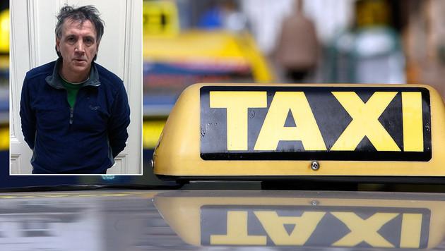 Dieser Taxifahrer soll mehrere Frauen sexuell missbraucht haben. (Bild: APA/GEORG HOCHMUTH, BPD Wien)