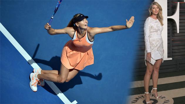 Scharapowa wegen Dopings für zwei Jahre gesperrt! (Bild: APA/AFP/ADRIAN SANCHEZ-GONZALEZ)