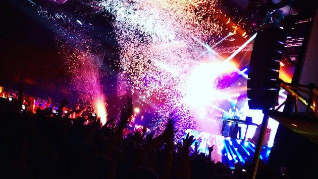 """""""City4U live bei Star-DJ Robin Schulz (Bild: City4U)"""""""