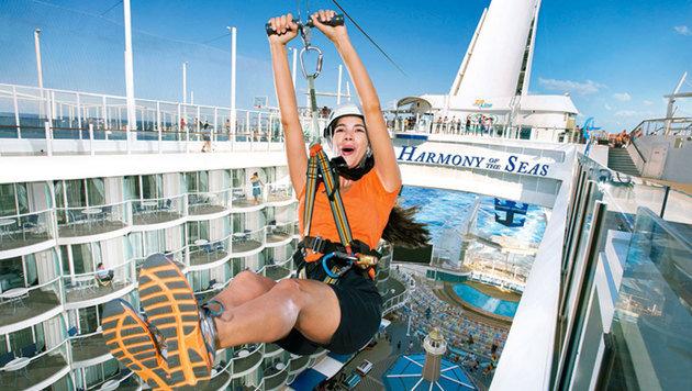 Das größte Kreuzfahrtschiff der Welt! (Bild: RCL Cruises Ldt.)