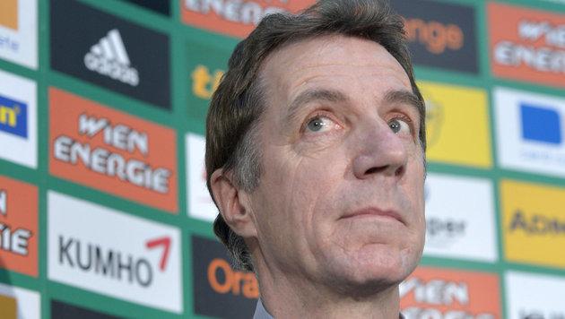 Ex-Rapid-Sportdirektor Helmut Schulte (Bild: APA/ROLAND SCHLAGER)