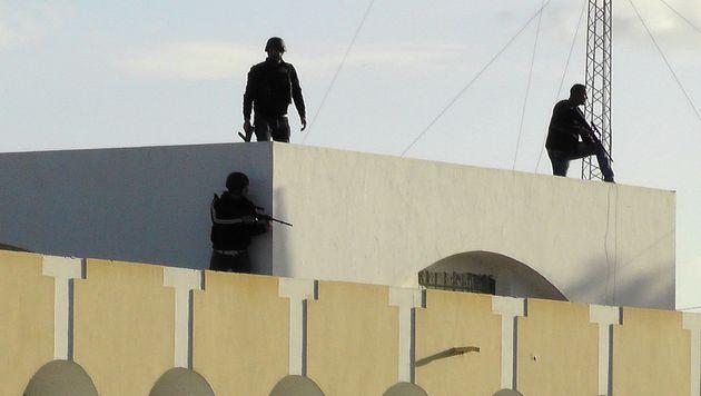 Tunesien: Islamisten-Angriff fordert Dutzende Tote (Bild: AFP)