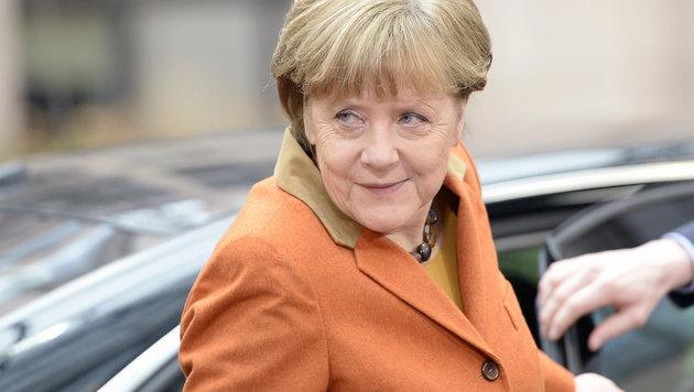 Angela Merkel (Bild: APA/AFP/EMMANUEL DUNAND)