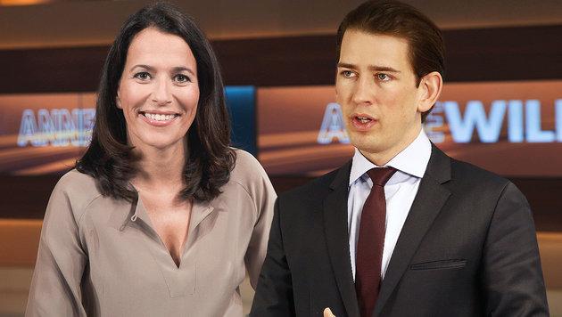"""Kurz: """"Das ist nicht rechts, sondern die Realität"""" (Bild: NDR/ARD, APA/Außenministerium/Dragan Tatic)"""