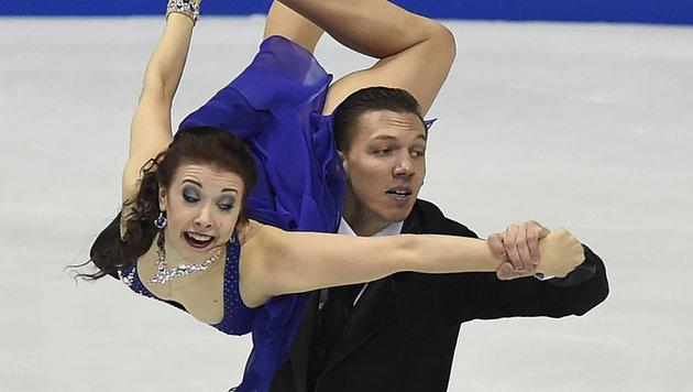 Jekaterina Bobrowa und Dmitri Solowijew (Bild: AFP or licensors)