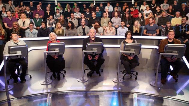 """Die """"Millionenshow""""-Kandidaten vom 7. März 2016 (Bild: ORF)"""