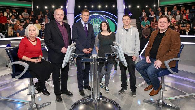 Riki Rittberg, Herbert Bartosch, A. Assinger, Alexandra Echeriu, Patrick Konzett, Dietmar Hofstetter (Bild: ORF)