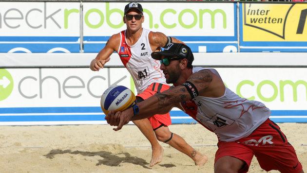 Olympia-Test für Doppler/Horst beim Rio-Grand-Slam (Bild: GEPA)