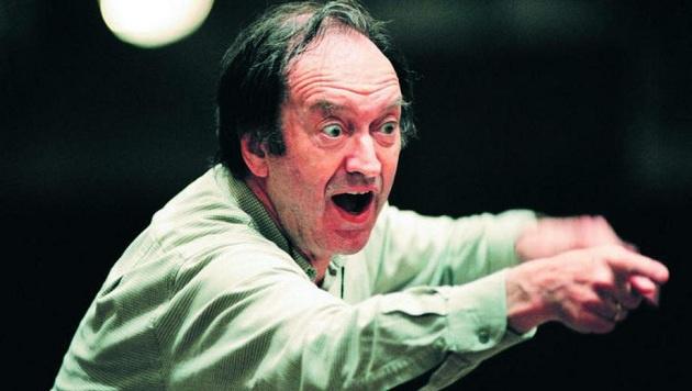 Impulsiv und aufrüttelnd: Harnoncourt in der Mozartwoche 2009 (Bild: Internationale Stiftung Mozarteum)