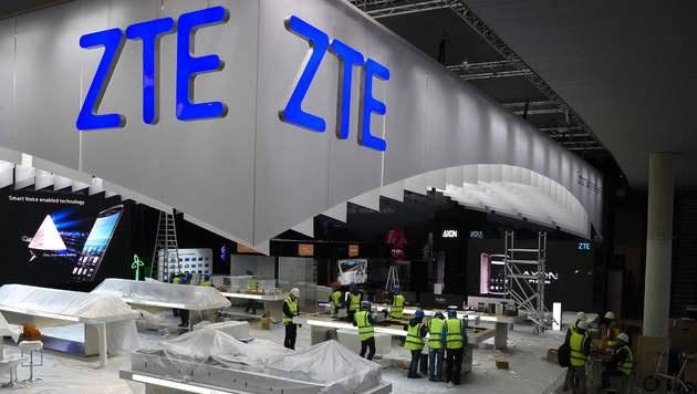USA planen Sanktionen gegen Telekomausrüster ZTE (Bild: AFP)
