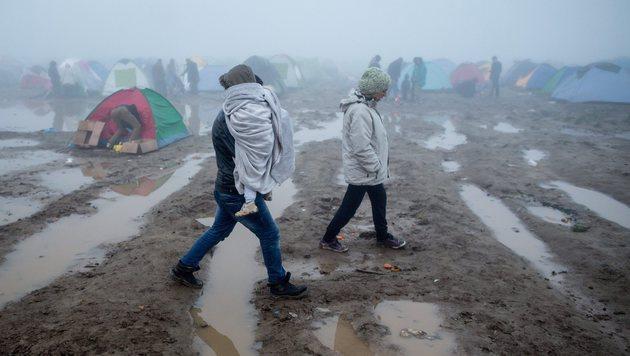 Flüchtlinge: EU billigt 700-Millionen-Euro-Paket (Bild: EPA)