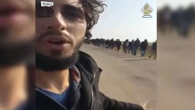 """""""Verrät dich jemand, werfen sie dich vom Dach"""" (Bild: Youtube.com)"""