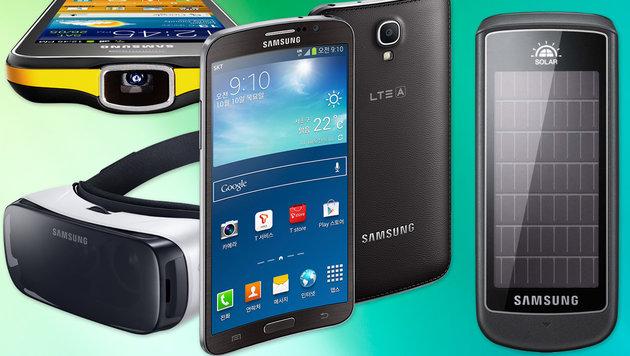 Bei diesen zehn Dingen war Samsung Vorreiter (Bild: thinkstockphotos.de,Samsung)