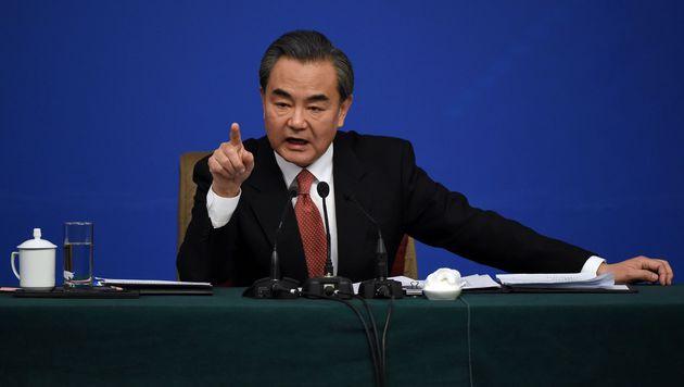 """China dulde """"keine St�rung der Stabilit�t auf der koreanischen Halbinsel"""": Au�enminister Wang Yi (Bild: AFP)"""