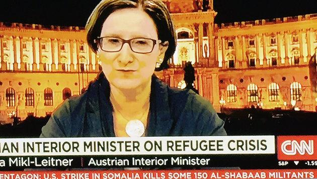 "Flüchtlingskrise: ""Was tut der Rest der Welt?"" (Bild: CNN-News)"