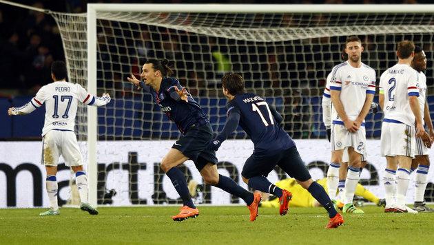 Ibrahimovic mit PSG gegen Chelsea gefordert (Bild: AP)