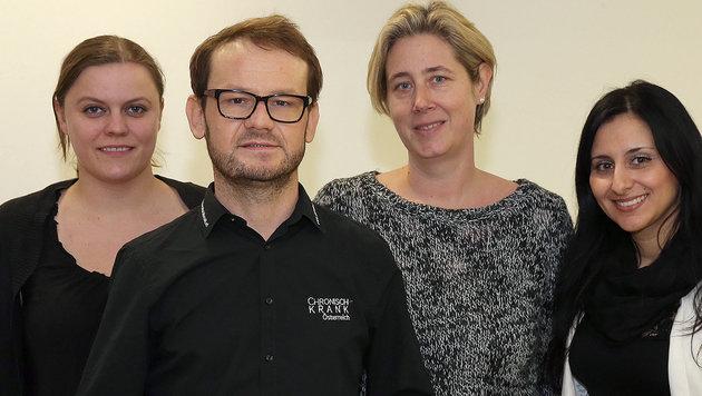 Jürgen Holzinger vom Verein ChronischKrank hilft Lipödem-Betroffenen. 30 Frauen klagen bei Gericht. (Bild: Zwefo)
