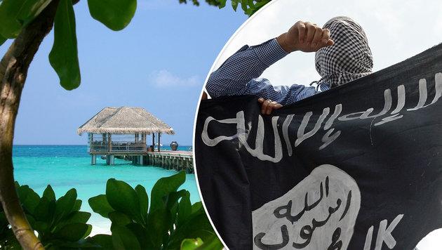Malediven: Auch Urlaubsparadies in Fängen des IS (Bild: dpa, AFP)