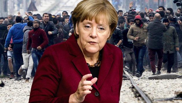 "Merkel rüffelt uns: ""Bin Österreich nicht dankbar"" (Bild: AP)"