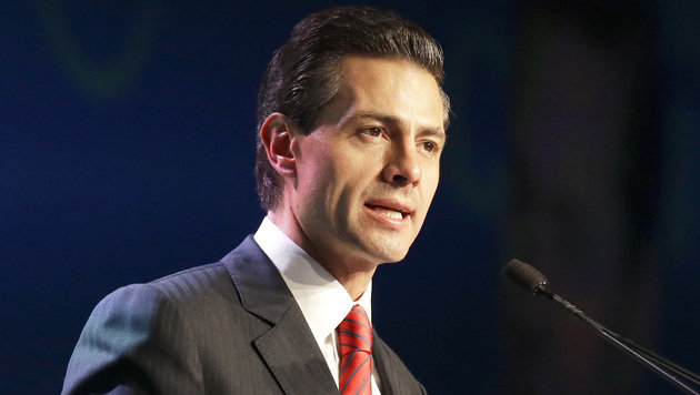 Der mexikanische Präsident Enrique Pena Nieto (Bild: Associated Press)