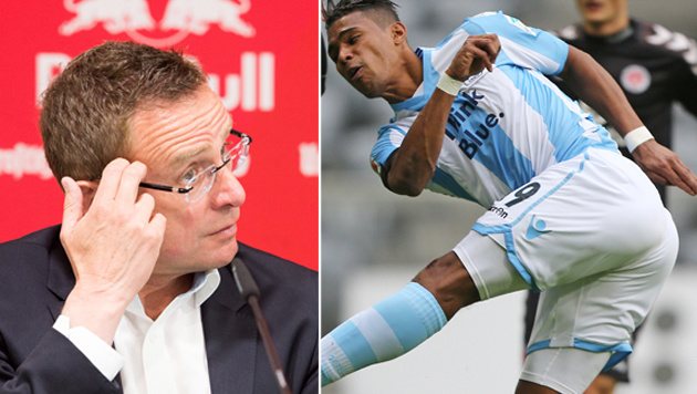 Okotie & Liendl können RB Leipzig in Krise ballern (Bild: APA/dpa-Zentralbild/Peter Endig, GEPA)