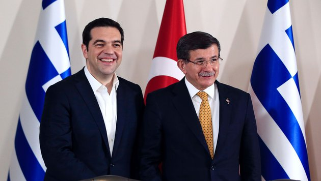 Türkei will Kooperation mit Griechenland ausbauen (Bild: AFP or licensors)