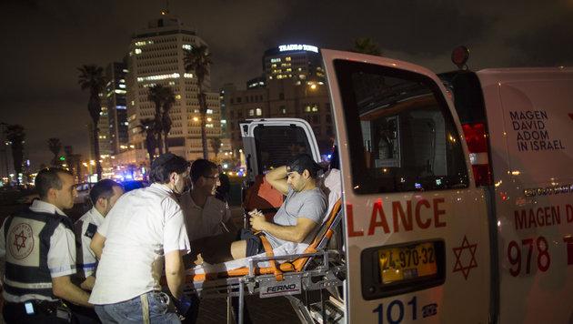 US-Tourist bei Messerattacke in Tel Aviv get�tet (Bild: AP)