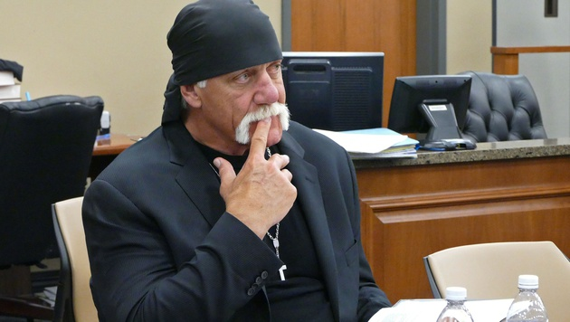 Hulk Hogan vor Gericht (Bild: AP)