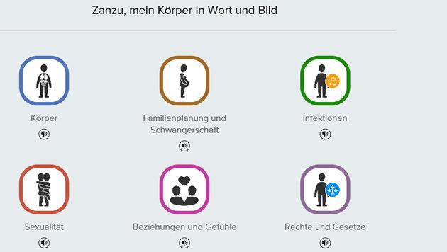 Deutschland: 150.000 Kondome f�r Fl�chtlinge (Bild: Screenshot/Zanzu.de)