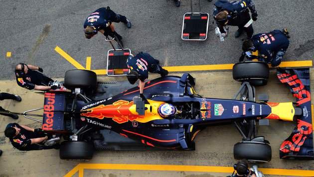 Red Bull hofft: Nie wieder ein Jahr wie 2015 (Bild: APA/AFP/JOSE JORDAN)