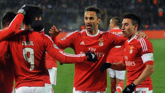 Benfica im Viertelfinale der Champions League (Bild: APA/AFP/OLGA MALTSEVA)
