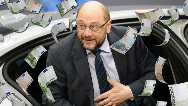 EU-Bonzen g�nnen sich neue Luxus-Limousinen (Bild: AFP, thinkstockphotos.de)