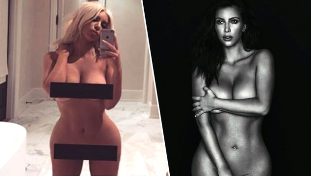 """Kim Kardashian: """"Genug mit dem Body-Shaming!"""" (Bild: Viennareport)"""