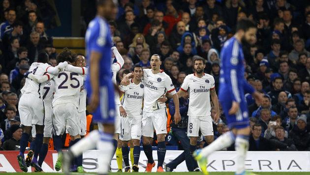 Paris SG wirft Chelsea aus der Champions League! (Bild: AP)
