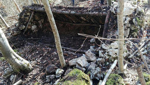 Hier wurden die sterblichen Überreste der Frau entdeckt. (Bild: APA/THOMAS LEITNER)