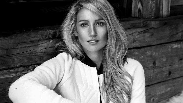 Anna Gasser macht nicht nur am Snowboard gute Figur, sondern auch beim Shooting für Red Bull. (Bild: Red Bull Contentpool)